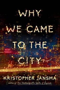 Why We Came to the City- a Feb 2016 #FuturisticFriday selection from @DoingDewey