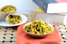 #Vegan Curried Chickpea Salad! Perfect for lunch
