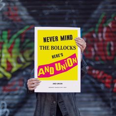 Image result for nevermind the bollocks  tin