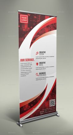 Buy Corporate Roll-Up Banner by GeniusPoint on GraphicRiver. Features: Easy Customizable and Editable Size in with bleed CMYK Color Design in 150 DPI Resolution P. Pull Up Banner Design, Roll Up Design, Graphic Design Flyer, Flyer Design, Banner Design Inspiration, Create Business Cards, Rollup Banner, Vinyl Banners, Typographic Design