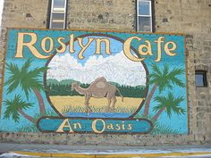 Roslyn, Washington where Northern Exposure was filmed~~One of my favorite TV shows ever.