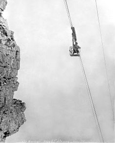 Table Mountain Cableway. by Etiennedup, via Flickr Old Pictures, Old Photos, African Image, Cape Town South Africa, Table Mountain, Beach Tops, Places Of Interest, Antique Maps, African History