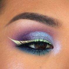 Makeup Geek Eyeshadows in Dragonfly and Peacock + Makeup Geek Foiled Eyeshadow in Day Dreamer. Look by: colorpunch
