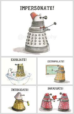 Daleks by Laura Best