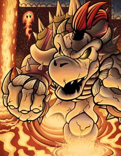Gizmo's Art Stream: Dry Bowser by culdesackidz on DeviantArt Mario And Luigi, Mario Bros, The Shadow Queen, King Koopa, Simpson Wallpaper Iphone, Super Mario Art, Classic Video Games, Video Game Art, Games