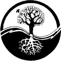 Norse Mythology Symbols yinyang?
