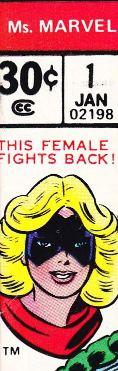 Ms. Marvel - Old School Ed.