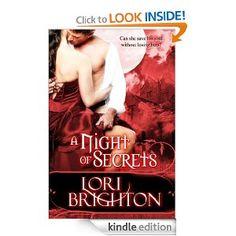 A Night Of Secrets, Historical Paranormal Romance by  Lori Brighton