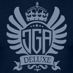 Du planst einen besonderen Junggesellenabschied? Dann kauf das JGA deluxe - Motiv! Edel, royal, extraordin�r! Lasst die Party beginnen!T-Shirts.