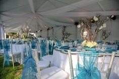 Turquoise and Twinkle Light Wedding-3