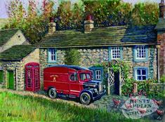 Uk Transport, Bolt Action Miniatures, Transport Pictures, Vintage Illustration Art, Illustrations, Best Jigsaw, Nostalgic Art, Cartoon Flowers, Country Paintings