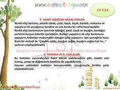 2-3 yaş arası oynanabilecek oyunlar (3) Science Activities, Activities For Kids, Ms Gs, Pre School, Games For Kids, Kid Games, Kids And Parenting, Montessori, How To Plan