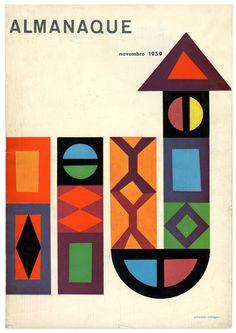 "garadinervi:  ""«Almanaque», 1959. Cover design: Sebastião Rodrigues  """