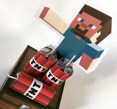 Decoração para Festa Minecraft