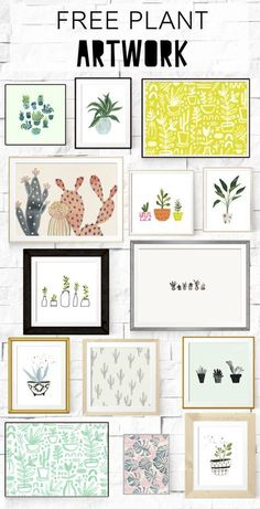 Free printables--great wall art.