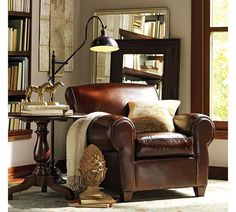 A comfy chair and blanket to read     http://8rd.org/decoration/