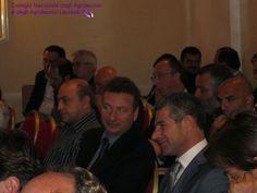 Al centro Domenico Collesano Presidente di Palermo; alla sua sinistra Valter Dino Mirabilio Presidente di Pescara, alla sua sinistra Vincenzo Grillo Presidente di Trapani.
