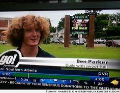 Ladies and gentlemen, Ben Parker: Dude with sweet hair.