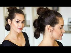 Star Wars Hair Tutorial   Rey's Triple Buns   The Force Awakens - YouTube