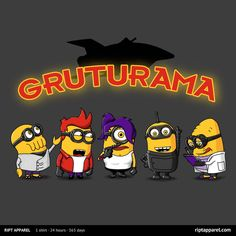 "Get ""Gruturama"" from artist 2mz today only, August 16, for $10 at RIPT Apparel. www.riptapparel.com"
