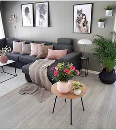 28 Cozy Living Room Decor Ideas To Copy - Wohnaccessoires Living Room Decor Cozy, Home Living Room, Apartment Living, Interior Design Living Room, Living Room Designs, Living Room Ideas, Nordic Living Room, Beautiful Living Rooms, Living Room Inspiration