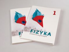 Physics textbook – B.A. project by Żaneta Strawiak, via Behance