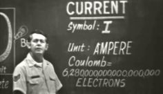 Electricity & Electronics: Current 1974 US Air Force Training Film https://www.youtube.com/watch?v=tFcIqgZuOCQ #electronics #electricity