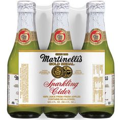 Stock up on Martinelli's Gold Medal Sparkling Cider. . . #sfballetnutcracker
