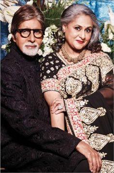 Amithab and Jaya Bachchan :   Bollywood Royalty : )