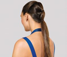 5 Creative Ponytails: Self.com:Ponytails aren't just for the gym! These five fast updos are the perfect answer to looking chic in the summer heat.