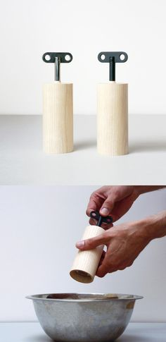 Salt & Pepper box designed by Oscar Diaz