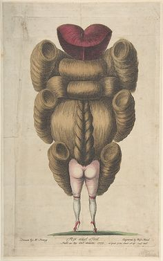 Top and Tail, anonymous (ascribed to Miss Heel), British, 1777.