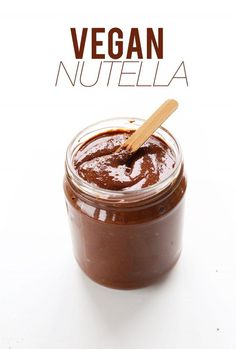 4 INGREDIENT Nutella! #vegan #glutenfree