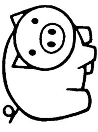 Pig Crafts, Farm Crafts, Camping Crafts, Quilt Patterns Free, Applique Patterns, Applique Quilts, Easy Coloring Pages, Coloring Books, Quiet Book Templates