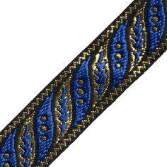 Venus Ribbon 1-Inch Metallic Jacquard, Black/Royal/Gold, 5-Yard Venus Ribbon http://www.amazon.com/dp/B008AFV8V2/ref=cm_sw_r_pi_dp_uV5Nwb13GXBMD