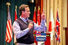 You can actually buy Rick Santorum's sweater vest--100% cotton and MADE IN THE USA natch--for $100 or more.