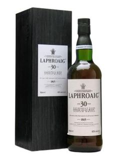 Laphroaig 30 Year Single Malt Scotch Whisky. Had the pleasure of sharing this with friends.