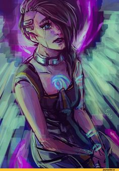 Borderlands-фэндомы-Borderlands-art-Angel-the-Siren-1164115.jpeg (636×914)