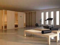Sauna - fitness combo