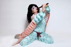 Björk wears a strap-on in Utopia album artwork