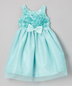 Loving this Seafoam Soutache Top Tulle Dress - Girls on #zulily! #zulilyfinds