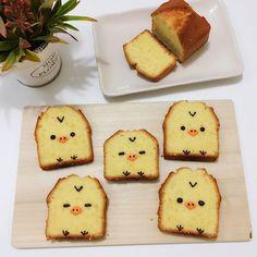 Kiiroitori pound cake by Angel (@tmyin11)