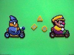 Perler Mario Kart by NES--still-the-best