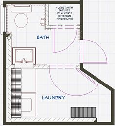 Bathroom and Laundry Plans | At the Intersection of Art, Architecture & Design