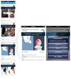 Mobile Design & Data - Collections - Google+ Applique, Application Mobile, Find Friends, Data Collection, Mobile Design, Applications, Luke, Google, Collections