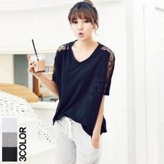 Buy 'ANNINA – Lace Trim T-Shirt' at YesStyle.com plus more South Korea items and get Free International Shipping on qualifying orders.