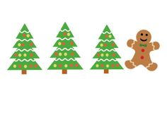 'Christmas Difference' by SpeechProgram. A game about sequences! #gingerbread #christmas