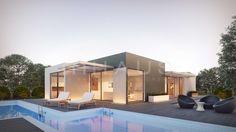 Casa prefabricada moderna diseño llanes de inHAUS