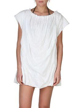Chloe Cotton T-shirt In White