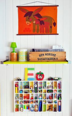 cute knick knack shelf